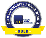 STC CAA 2018 Gold award small badge