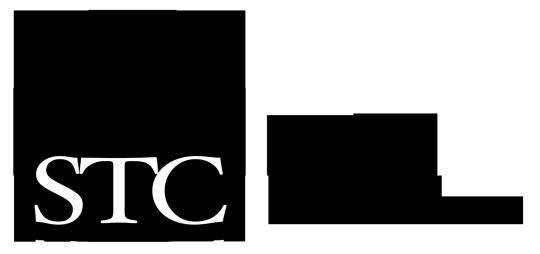 STC logotype BW H