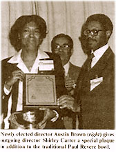 photo of Shirley G. Carter and Austin T. Brown