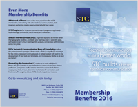 STC 2016 membership flyer