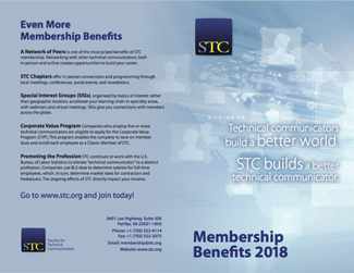 2018 STC Membership flyer page 2