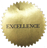 CAA 2007 excellence award sticker