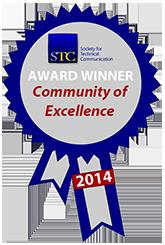 STC CAA 2014 excellence award ribbon