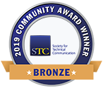 STC CAA 2019 Bronze award small badge