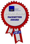 STC Pacesetter award badge