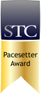 STC Pacesetter award badge