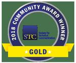 STC CAA 2018 Gold award small badge