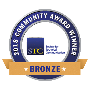 Transparent graphic of STC CAA 2018 Bronze Award