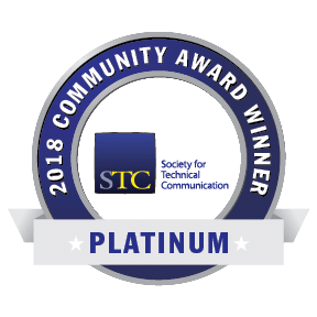 Transparent graphic of STC CAA 2018 Platinum Award