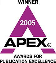 Winner's badge forAPEX 2005