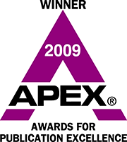 APEX Winner badge for 2009.