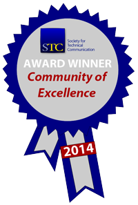 STC Community Achievement Excellence ribbon