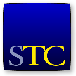 STC Blue logo square